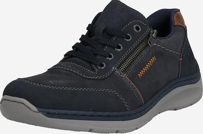 RIEKER Chaussure à lacets en bleu foncé, Vue avec produit