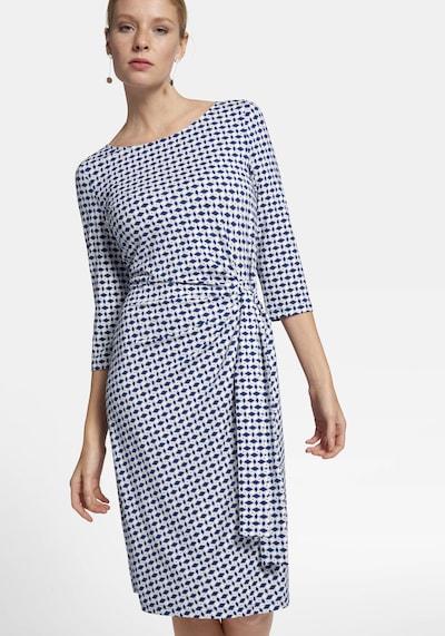 Uta Raasch Jersey-Kleid mit 3/4-Arm in blau, Modelansicht