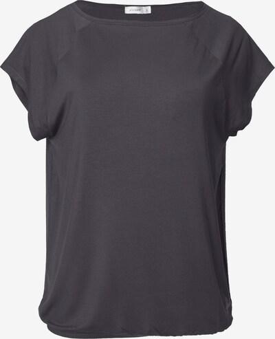 Kismet Yogastyle T-Shirt 'Jiva Tee' in dunkelgrau, Produktansicht