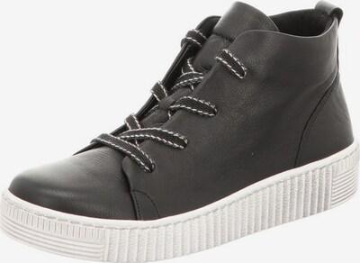 GABOR Sneakers in schwarz / naturweiß, Produktansicht
