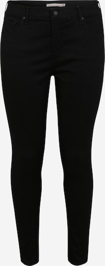 Levi's® Plus Jeans '310™ PL SHAPING SUPER SKINNY' in de kleur Black denim, Productweergave