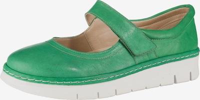 BRAKO Ballerinas 'Shey' in grün, Produktansicht