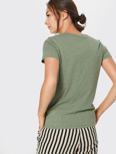 Iriedaily T-Shirt 'Blowball' in grün: Rückansicht