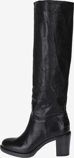 SHABBIES AMSTERDAM Stiefel zum Schlupfen in schwarz, Produktansicht