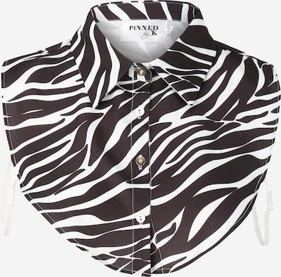 Apykaklė 'Zeb black' iš Pinned by K , spalva - juoda / balta, Prekių apžvalga
