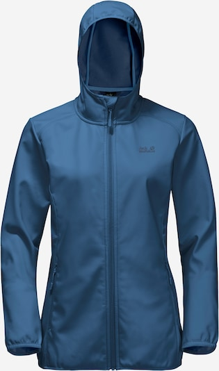 JACK WOLFSKIN Veste outdoor 'NORTHERN POINT' en bleu, Vue avec produit