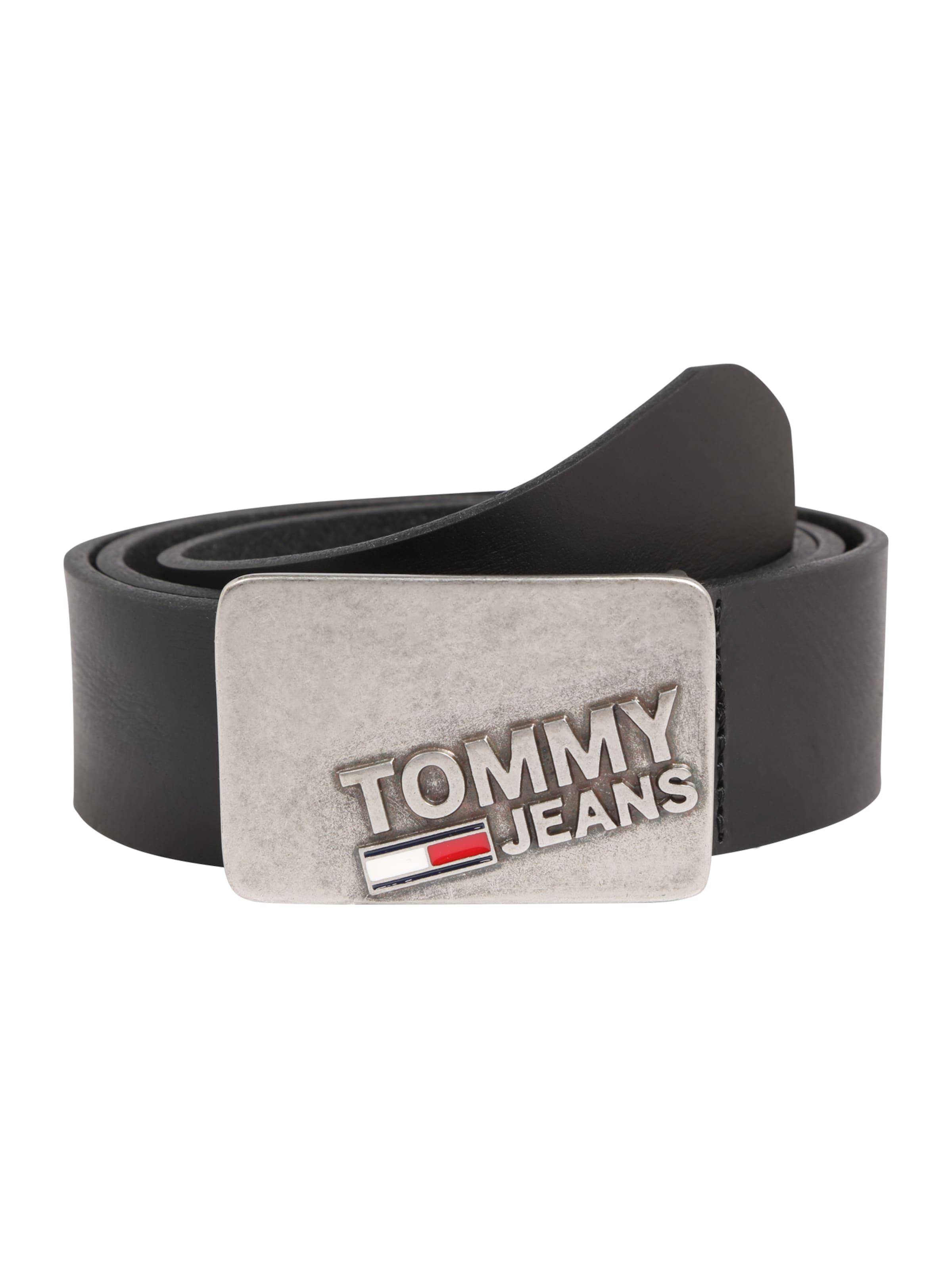 Tommy Jeans Ledergürtel mit Plakette Schlussverkauf Billige Wahl Freies Verschiffen Neue Stile Suche Nach Online Auslass Wirklich i6R5l