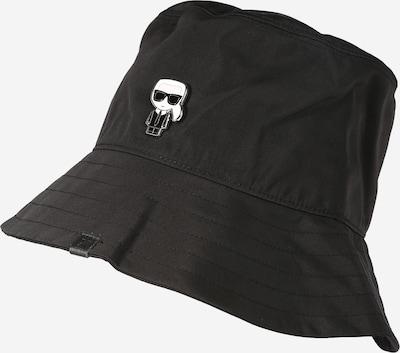 Karl Lagerfeld Hut 'Ikonik' in schwarz, Produktansicht