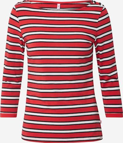 Blutsgeschwister T-shirt 'Harbour D'amour' en rouge / noir / blanc, Vue avec produit