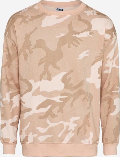 Urban Classics Sweater Crewneck in beige / rosé, Produktansicht
