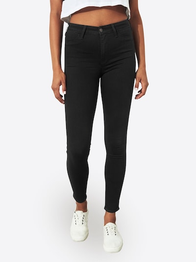 HOLLISTER Jeans 'CLEAN BLACK' in black denim, Modelansicht