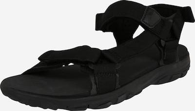 JACK WOLFSKIN Sandalen in schwarz, Produktansicht
