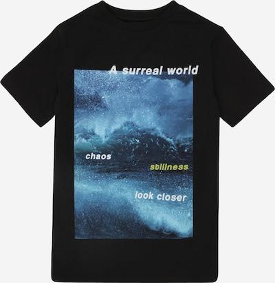 LMTD Shirt 'NLMKILO' in blau / schwarz, Produktansicht