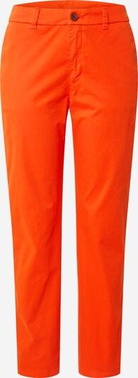 BOSS Pantalon chino 'Sachini4-D' en orange fluo, Vue avec produit