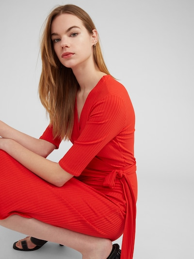 EDITED Robe 'Portia' en rouge, Vue avec modèle