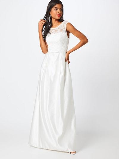Vakarinė suknelė iš STAR NIGHT , spalva - perlų balta, Modelio vaizdas