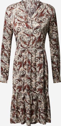 Soyaconcept Skjortklänning 'Kendra 3' i beige / grå / blodröd / roströd / svart, Produktvy