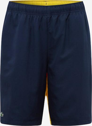 Lacoste Sport Pantalon de sport 'Taffetas Diamante' en marine / jaune / blanc, Vue avec produit