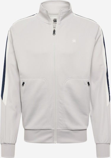 G-Star RAW Sweatjacke in grau, Produktansicht