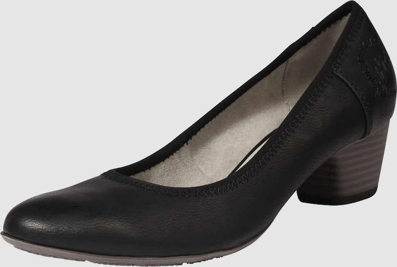 s.Oliver RED LABEL Pumps in Leder-Optik