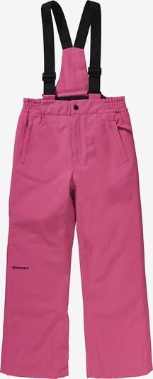 ZIENER Skihose 'Alenko' in pink / schwarz, Produktansicht