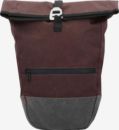 VAUDE Sac à dos de sport 'Tobel' en gris basalte / bourgogne, Vue avec produit