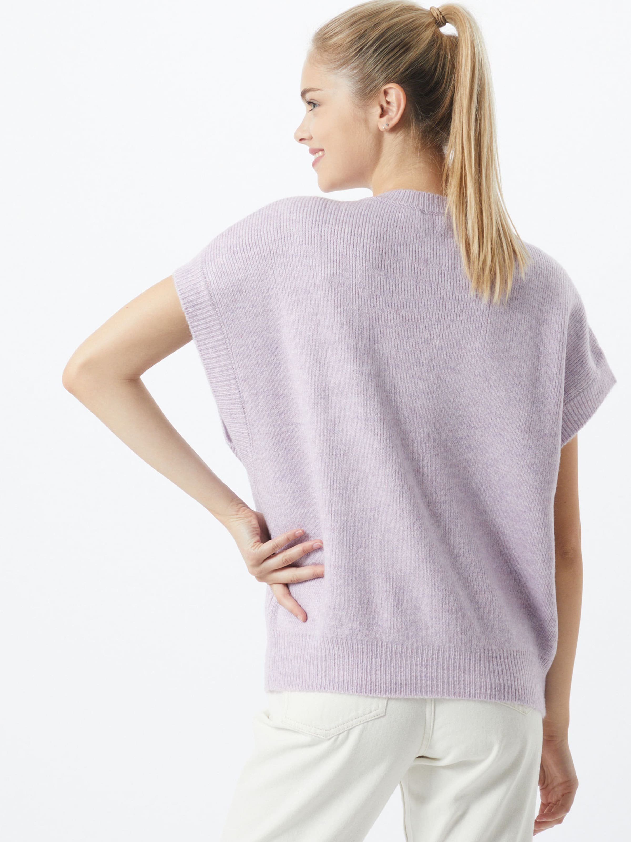 SISTERS POINT Pullover 'MARKA' in pastelllila