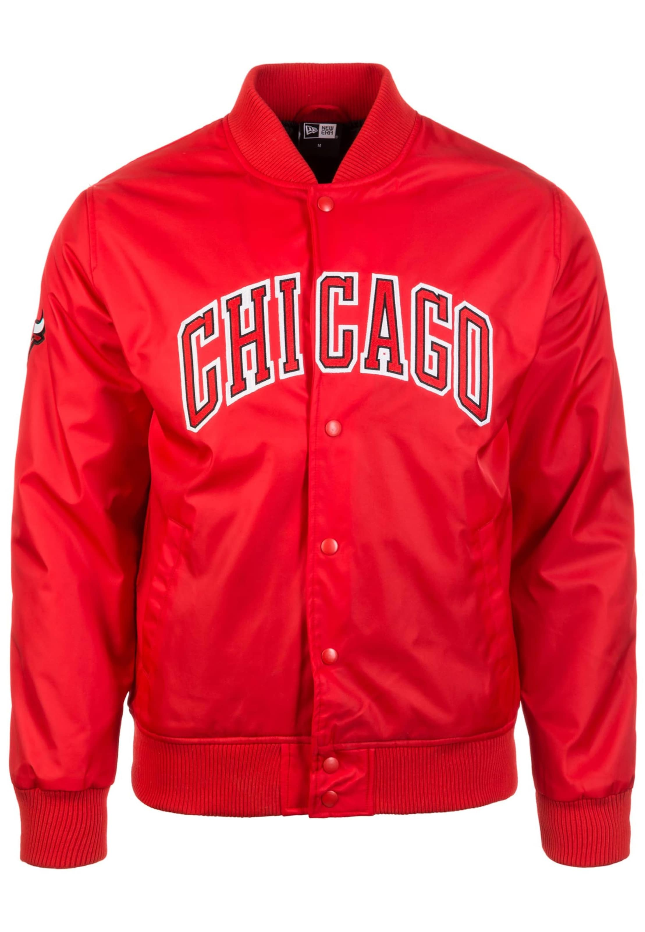 In Varsity' Rot 'nba Bulls New Chicago Era Jacke CxrBWdoe
