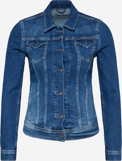 Pepe Jeans Jacke 'Thrift' in blue denim, Produktansicht