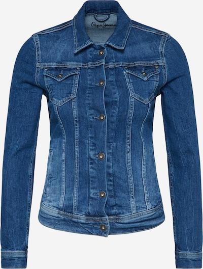 Pepe Jeans Veste mi-saison 'Thrift' en bleu denim, Vue avec produit