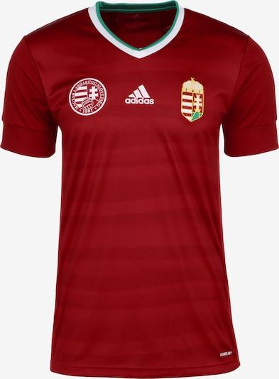 ADIDAS PERFORMANCE Trikot 'HFF Ungarn Home EM 2020' in rot / weiß, Produktansicht