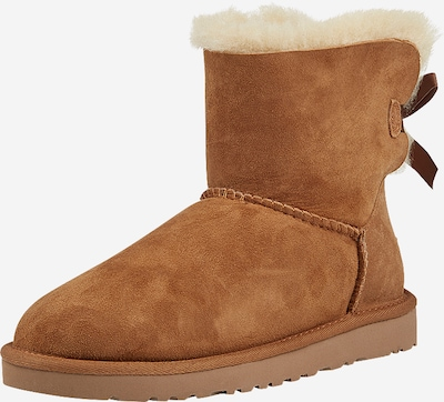 UGG Snowboots 'Mini Bailey Bow II' in de kleur Cognac, Productweergave