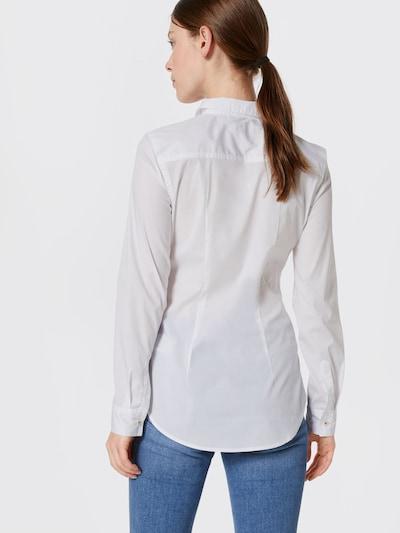 Tommy Jeans Bluse in weiß: Rückansicht