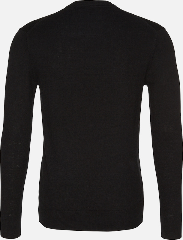 over Noir Superdry over Pull Superdry Pull En En Noir 4RAjL53