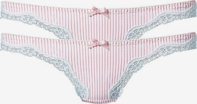 H.I.S String in pink / white, Item view