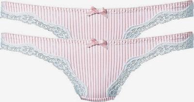 H.I.S String in rosa / weiß, Produktansicht