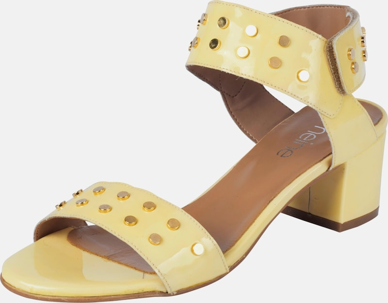heine Sandalette mit Nieten Verschleißfeste billige Schuhe