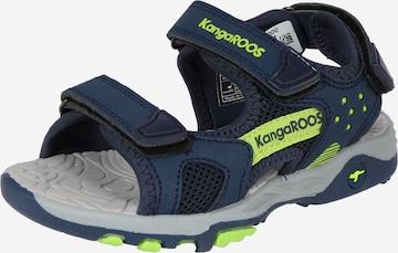 KangaROOS Sandale 'Logan' in Blau
