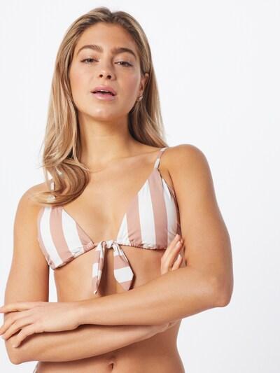 BILLABONG Bikinitop 'Shady Sands' in rosa / weiß, Modelansicht
