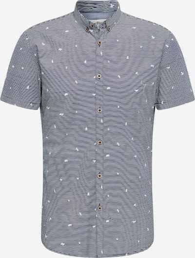 TOM TAILOR DENIM Overhemd in de kleur Grijs: Vooraanzicht