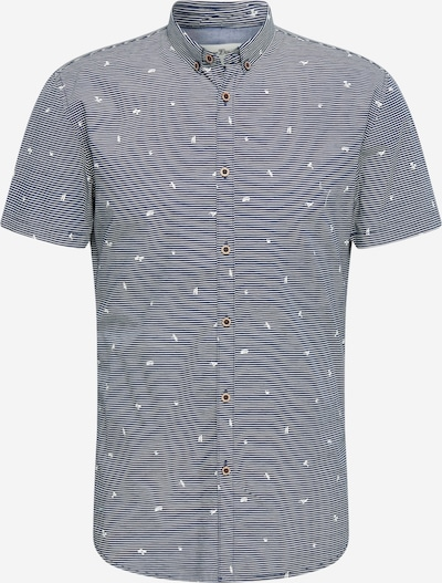TOM TAILOR DENIM Košile - šedá: Pohled zepředu