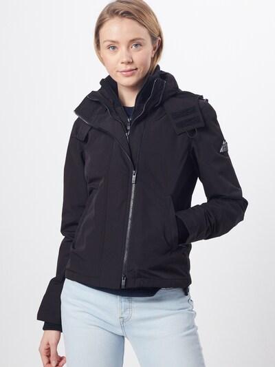 Superdry Prijelazna jakna u crna: Prednji pogled