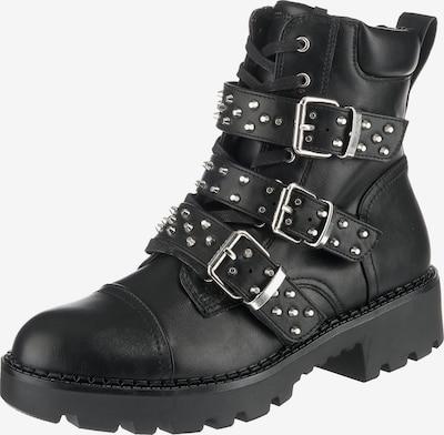 BUFFALO Boots 'Feriz' in schwarz: Frontalansicht