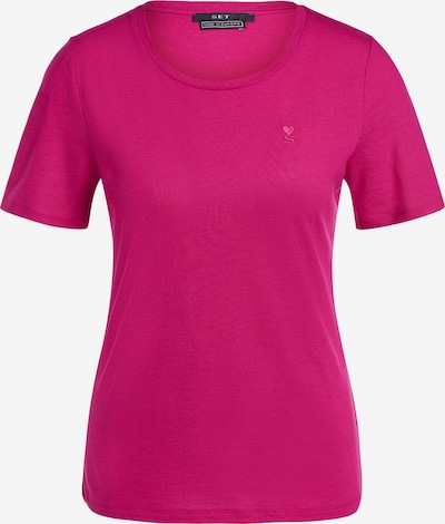 SET T-Shirt in dunkelpink, Produktansicht