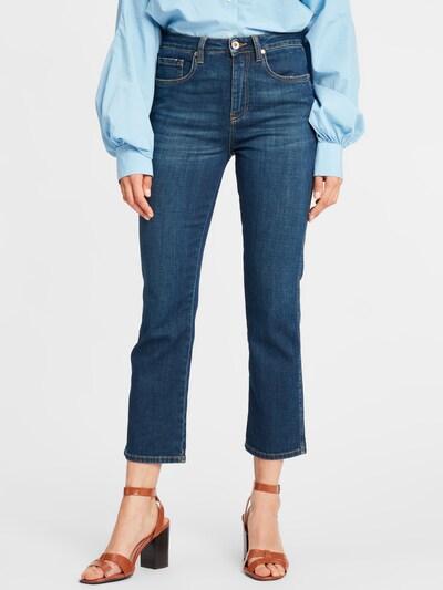 SoSUE Jeans in de kleur Blauw: Vooraanzicht