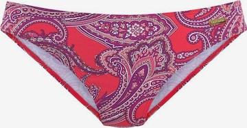 Bas de bikini 'Boho' LASCANA en rouge