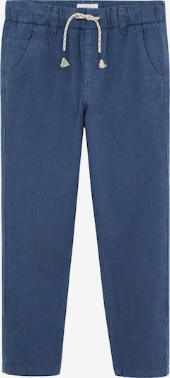 MANGO KIDS Hose 'PANTALON NICO' in blau, Produktansicht