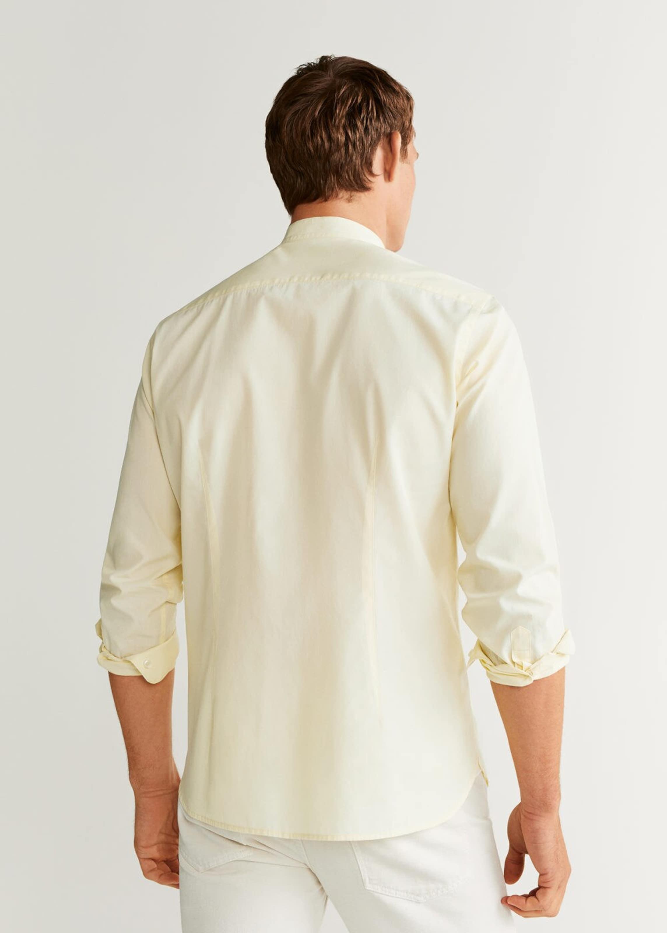 Mango Pastellgelb 'jackson' In Hemd Man QdxrECWeBo
