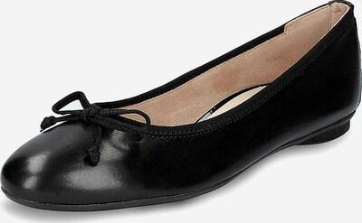 Paul Green Ballerinas in schwarz, Produktansicht