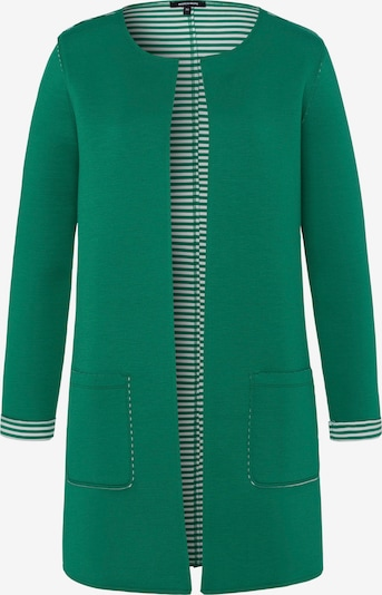 MORE & MORE Sweatjacke in smaragd, Produktansicht